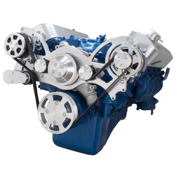 Serpentine System for 429 & 460 - AC & Alternator - All Inclusive