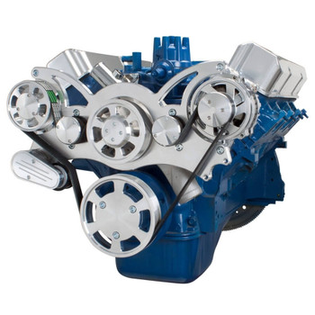 Serpentine System for Ford FE Engines - Alternator Only