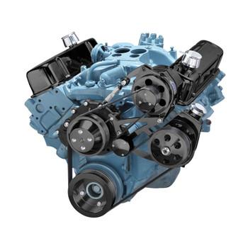 pontiac v belt pulley system 350 400 428 455 rh cvfracing com Pontiac V6 Pontiac V6