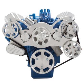 Serpentine System for Ford FE Engines - Power Steering & Alternator
