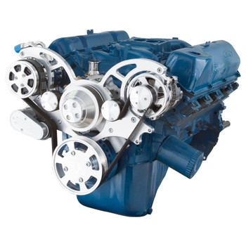 Serpentine System for 351C, 351M & 400 - AC & Alternator - All Inclusive