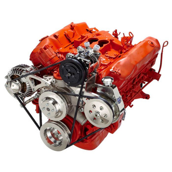 Chrysler Big Block A/C, Power Steering & Alternator System