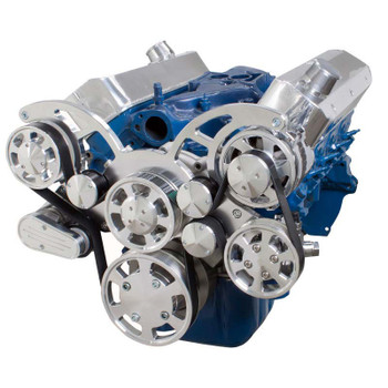 Serpentine System for 289, 302 & 351W - Power Steering & Alternator - All Inclusive