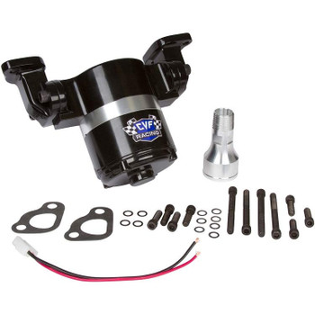 Chevy Big Block Electric Water Pump - 35 GPM, Black