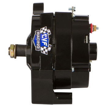 Stealth Black Ford 1 Wire 100 Amp Alternator