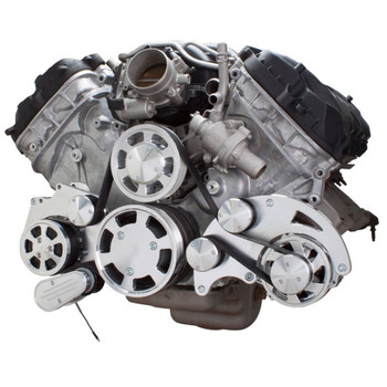 Serpentine System for Ford Coyote 5.0 - AC & Alternator - All Inclusive
