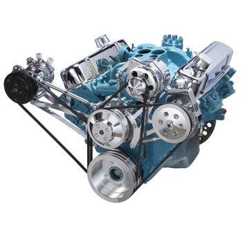 Pontiac V-Belt System - A/C & Power Steering