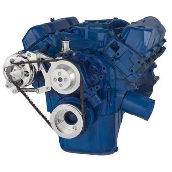 Ford 351C, 351M & 400 V-Belt System - Alternator Only