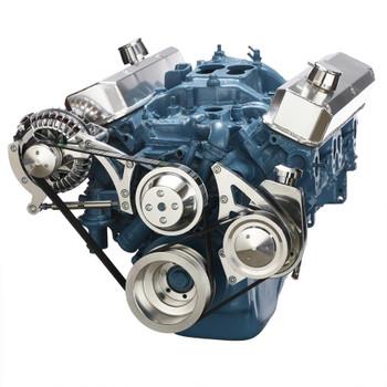 Small Block Chrysler Serpentine Conversion, Power Steering