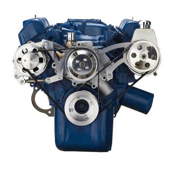 ford 351 cleveland v belt pulley system 351c rh cvfracing com