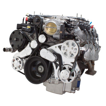Serpentine System for LT4 Supercharged Generation V - Power Steering & Alternator - All Inclusive