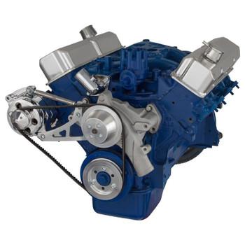 Ford 390 V-Belt System - Alternator Only