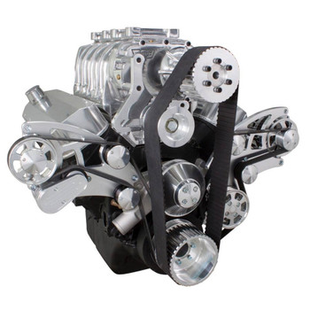 Serpentine System for 396, 427 & 454 Supercharger - Power Steering & Alternator - All Inclusive