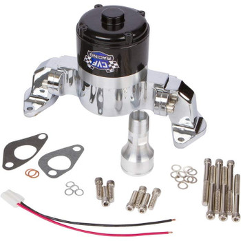 Chevy Big Block Electric Water Pump - 35 GPM, Chrome