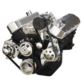 Chevy Big Block Serpentine Conversion Kit - AC & Power Steering