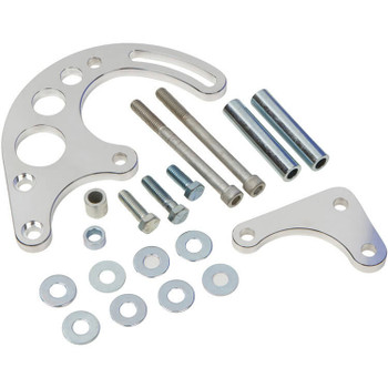 Chevy Small Block Power Steering Bracket - Electric or Short Water Pump