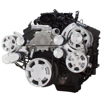 Serpentine System for LT1 Generation II - Power Steering & Alternator - All Inclusive