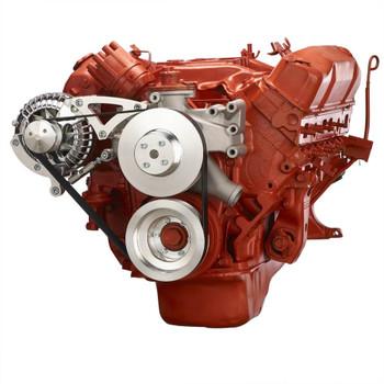 Big Block Chrysler Serpentine Conversion, Alternator Only