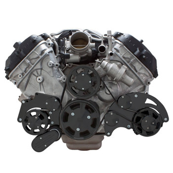 Stealth Black Serpentine System for Ford Coyote 5.0 - Alternator