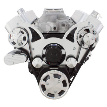 Serpentine System for 396, 427 & 454 - Alternator Only with Electric Water Pump