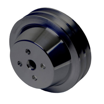 Stealth Black Ford 289, 302, 351W Water Pump Pulley