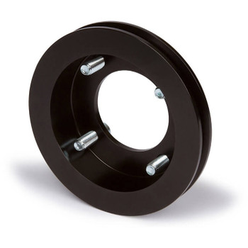 Stealth Black Ford Crank Pulley