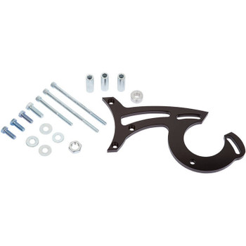 Stealth Black Ford Small Block Power Steering Bracket