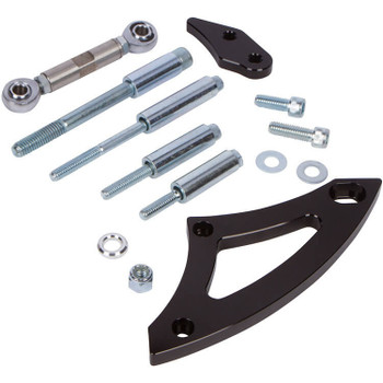 Stealth Black Ford 289-302 Alternator Bracket - Electric Water Pump