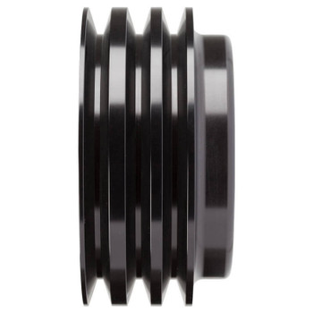 Stealth Black Chevy Small Block Crankshaft Pulley