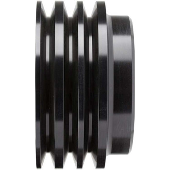 Stealth Black Big Block Chevy Crankshaft Pulley 3 Groove