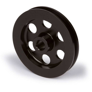 Stealth Black Ford Power Steering Pulley V-Belt Special Offset