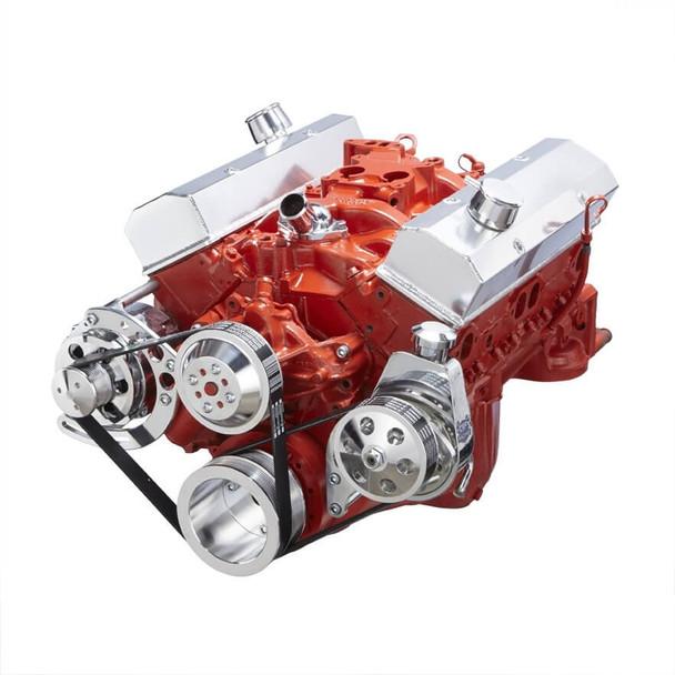 Chevy Small Block Serpentine Conversion - Power Steering & Alternator