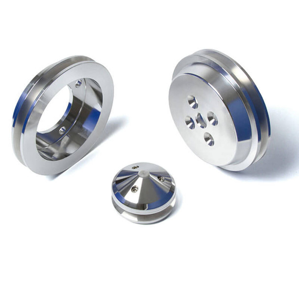 Short Ford Small Block Pulley Kit