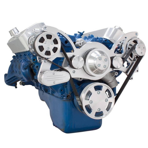 Serpentine System for 429 & 460 - AC & Alternator