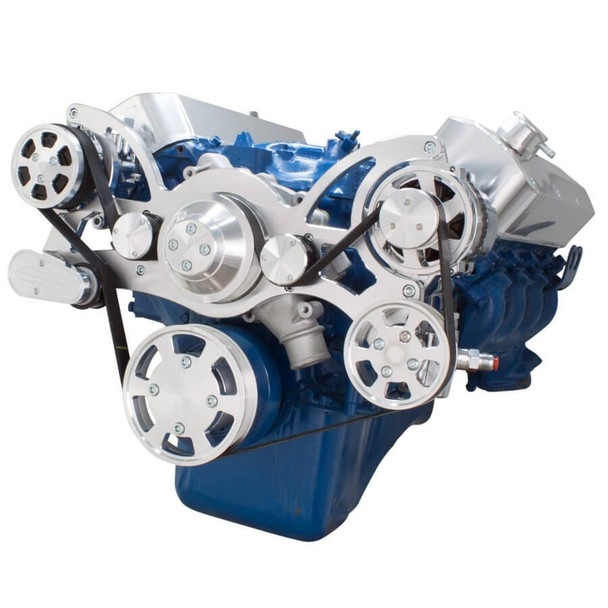 Serpentine System for 429 & 460 - AC, Power Steering & Alternator