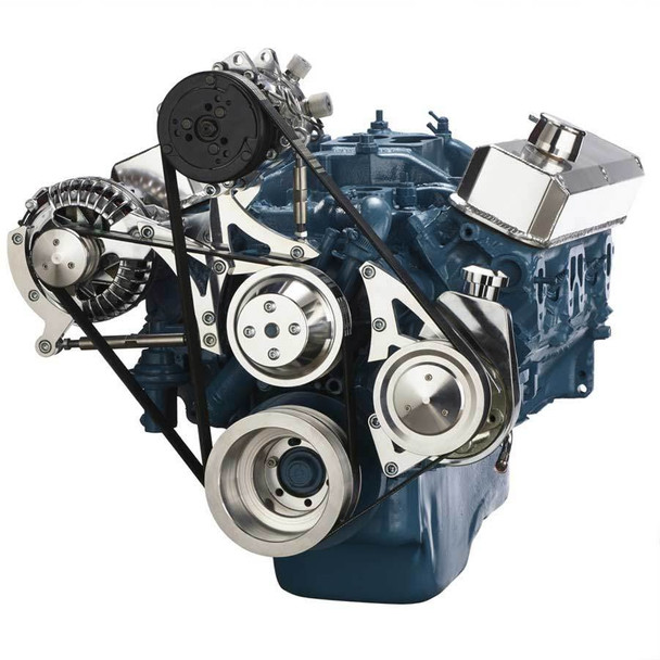 Small Block Chrysler Serpentine Conversion, Air Conditioning and Power Steering