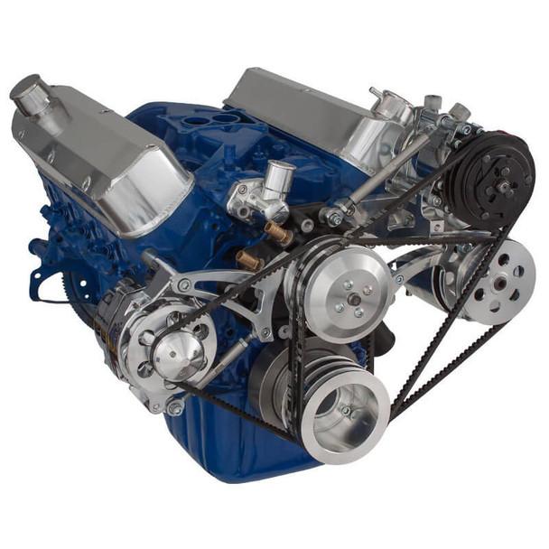 Ford 289-302-351W V-Belt System - AC, Alternator & Power Steering