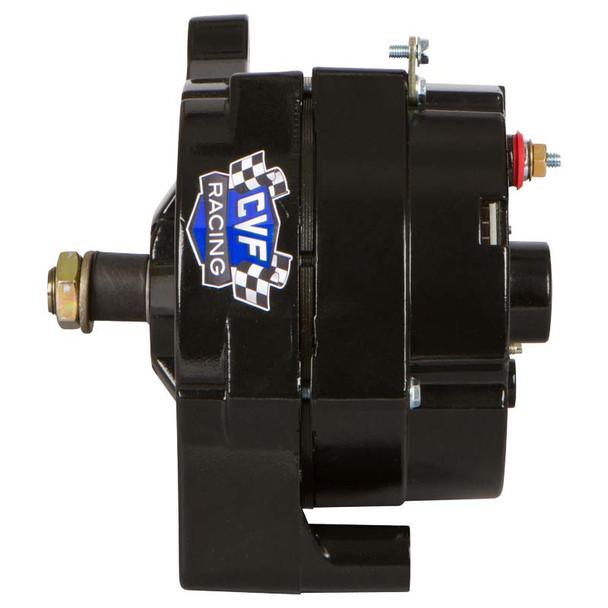 Stealth Black Ford 1 Wire 100 Amp Alternator