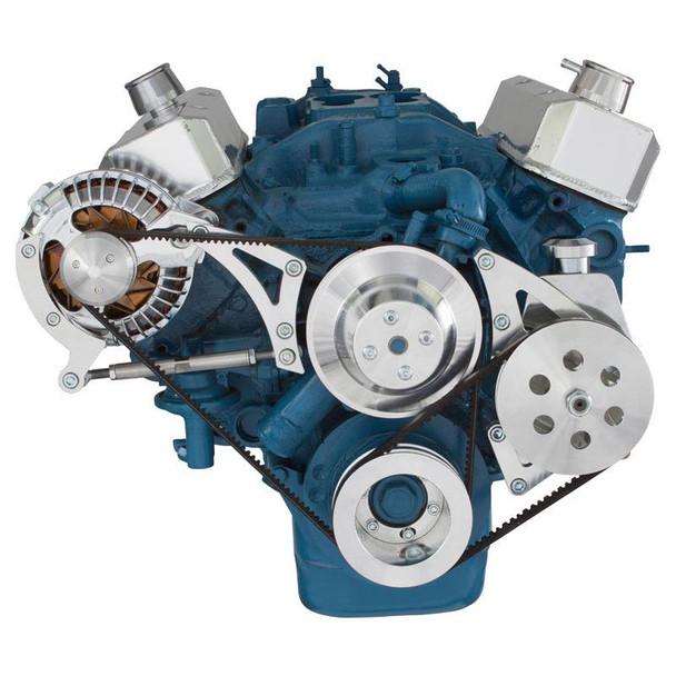 Chrysler Small Block Power Steering & Alternator System