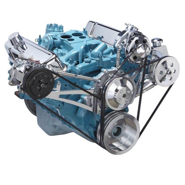 Pontiac V-Belt System - A/C, Alternator & Power Steering