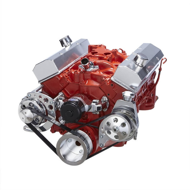 Chevy Small Block Serpentine Conversion - Power Steering