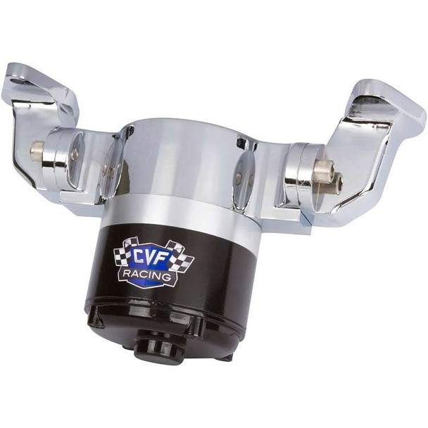 Ford 351C Electric Water Pump - 35 GPM, Chrome