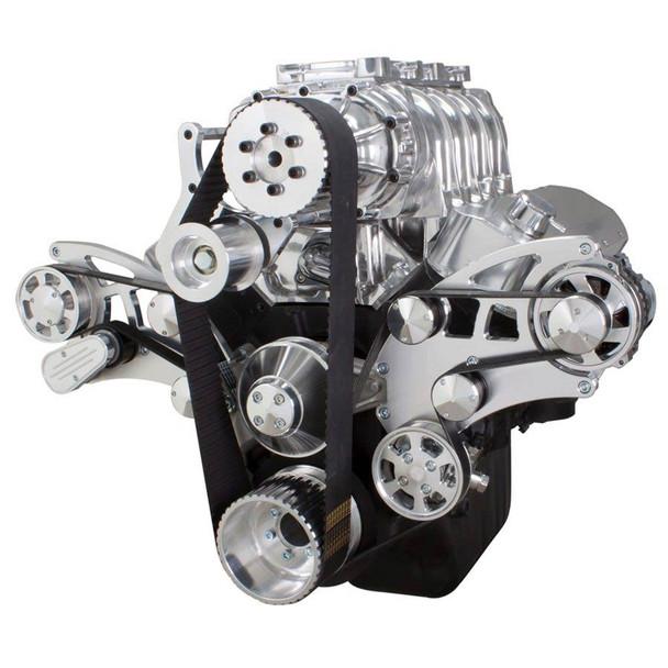 Serpentine System for 396, 427 & 454 Supercharger - Power Steering & Alternator