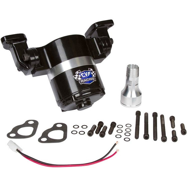 Chevy Small Block Electric Water Pump - 35 GPM, Black