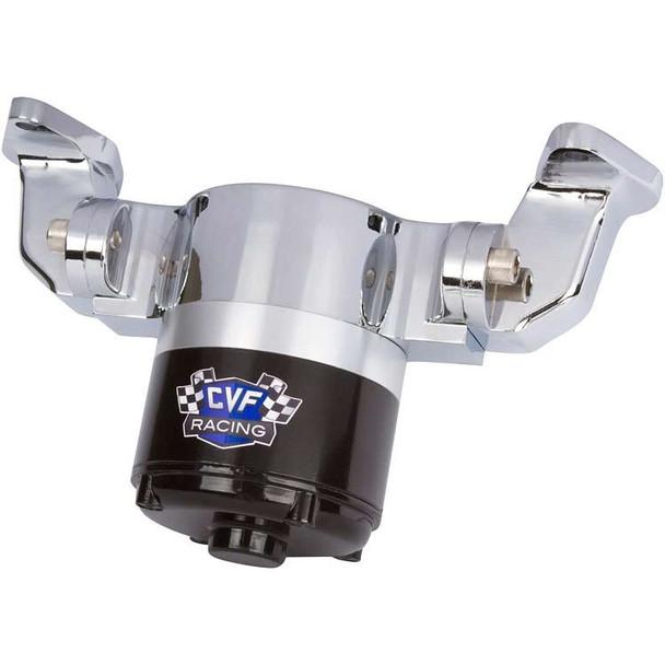 Chevy Big Block Electric Water Pump - 35 GPM, Chrome