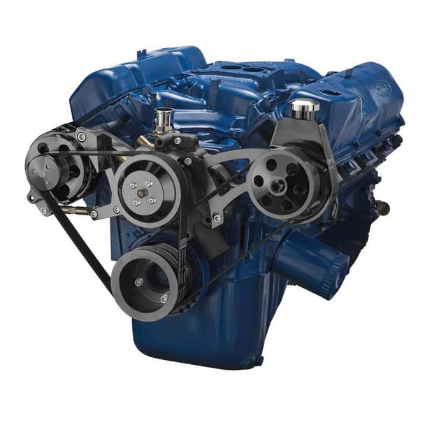 Ford 351C Serpentine System - Power Steering & Alternator