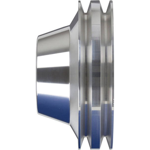 Corvette Water Pump Pulley - 2 Groove