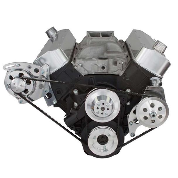 Chevy Big Block V-Belt System - Power Steering