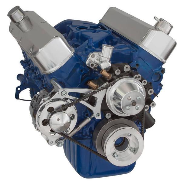 Ford 289-302-351W V-Belt System for Alternator Only