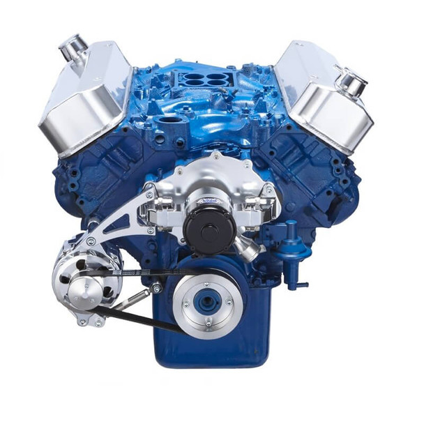 Ford 460 Serpentine System - Electric Water Pump, Alternator Only